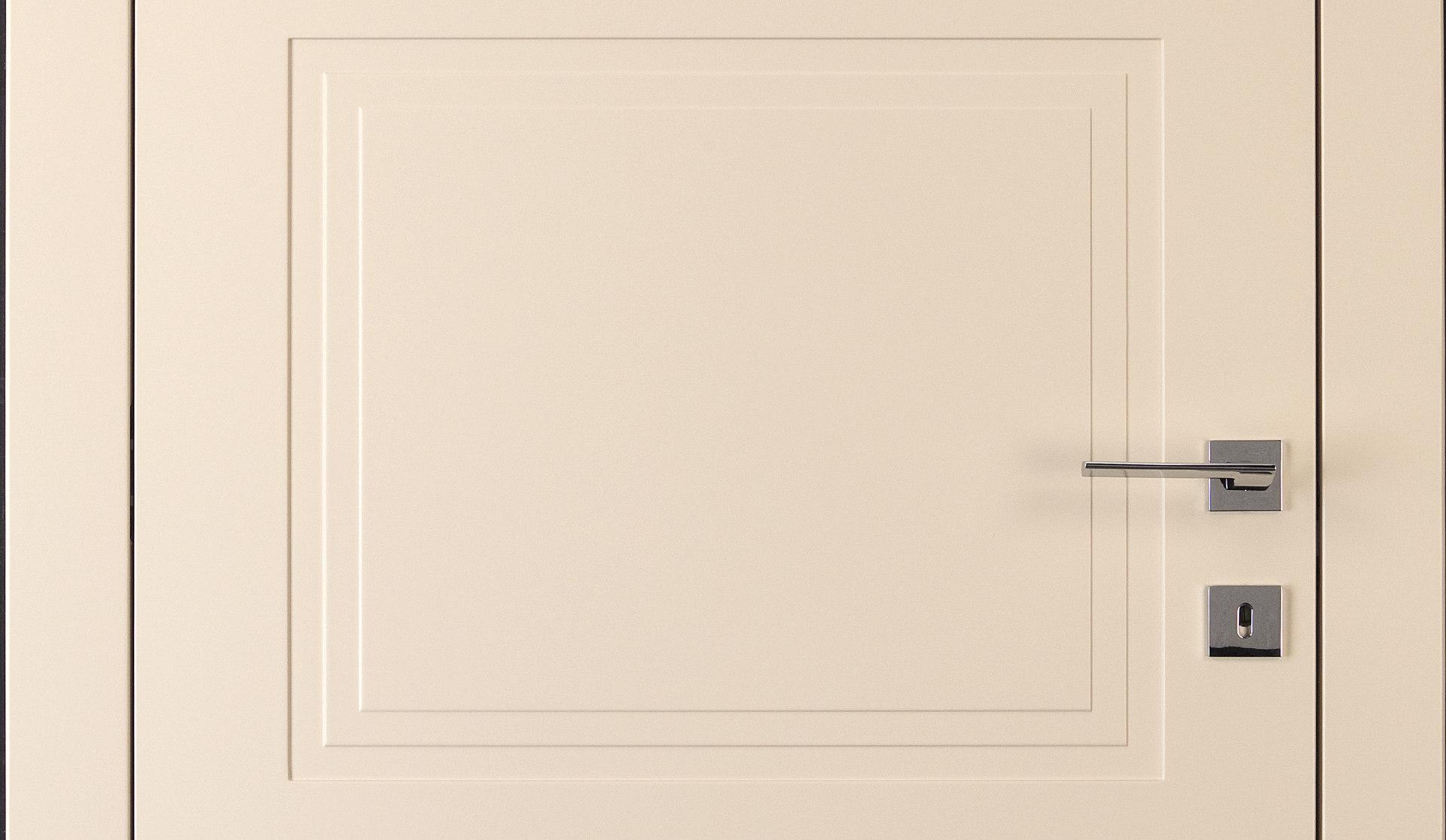 Porta tamburata in legno per interni zanini e melchiori verona - Porta tamburata legno ...